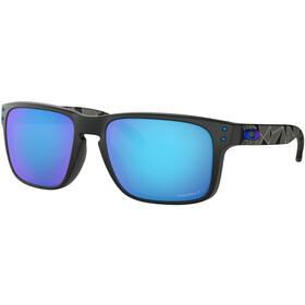 Oakley Holbrook Gafas de sol, matte black/prizmatic prizm/sapphire polarized